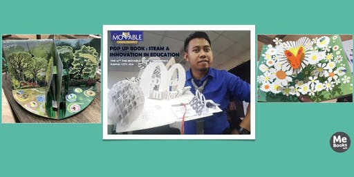 Pop-Up Book Workshop with Mr. Rizal (Talented Malaysian Pop-Up Book Maker) at Sunway Citrine Hub