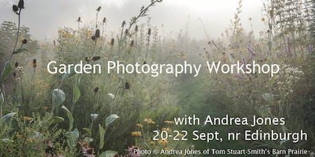 Garden photography workshop with Andrea Jones tickets