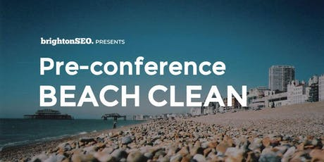 Pre-BrightonSEO Beach Clean - Sept2019 tickets