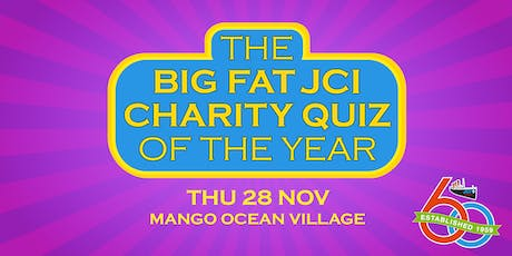 The Big Fat JCI Charity Quiz of the Year tickets