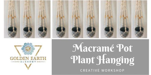 Macramé Pot Plant Hanging Workshop