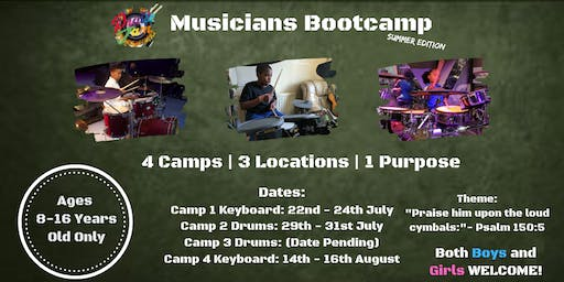 CAMP 2: Musicians Bootcamp [Summer Edition]