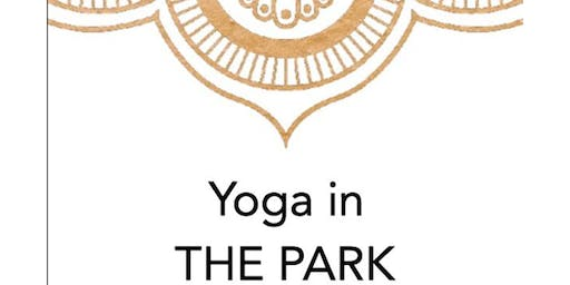Yoga in the Park with Alison - July