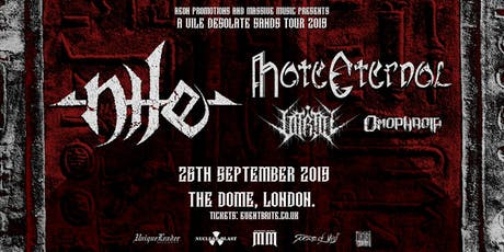 NILE / HATE ETERNAL at The Dome, London tickets