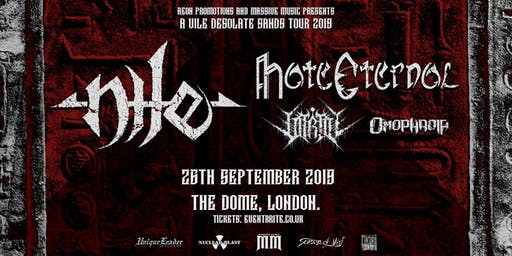 NILE / HATE ETERNAL at The Dome, London