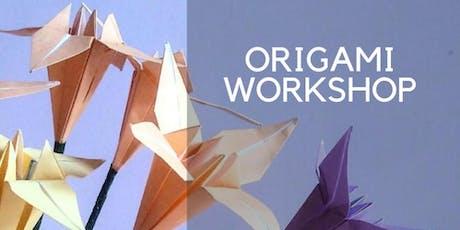 Origami & Mandala taster workshop - the Appreciation of Arts and Beauty through origami making and mandala drawing  tickets
