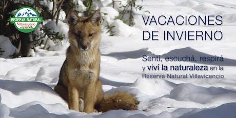 Vacaciones de Invierno 2019: Ticket de ingreso a la Reserva Natural Villavicencio entradas