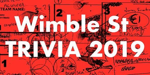 Wimble Street Trivia Night 2019