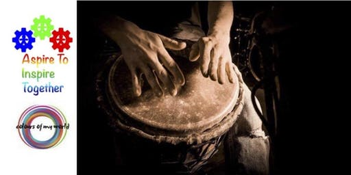 Learn Hand Drumming 1/2 - Colours Of My World Workshop