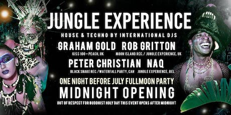 JUNGLE EXPERIENCE JULY 17, 2019 tickets