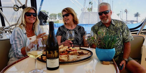 Wine on the Water | an Intrigue Luxury Charters San Diego Discovery Event