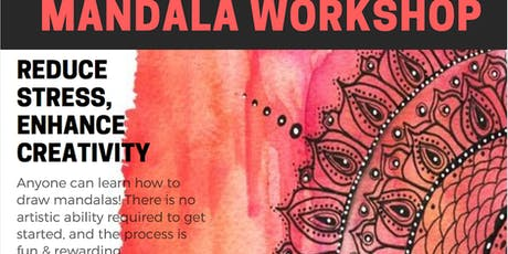 Mandala & Origami taster workshop - the appreciation of Arts and Beauty through mandala drawing and origami making tickets
