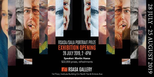 RSASA/SALA 4th Portrait Prize Exhibition Opening