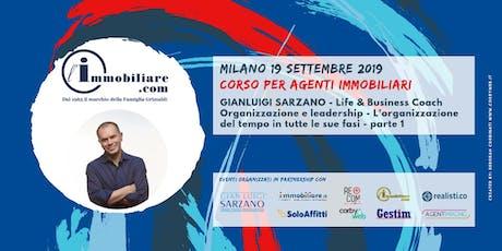 CORSO | ORGANIZZAZIONE E LEADERSHIP | PARTE 1 biglietti