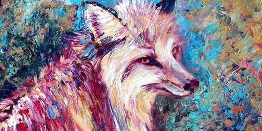 Animal Portraits in Acrylics Workshop
