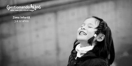 Área infantil Gestionando hijos Madrid19' entradas
