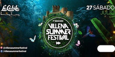 Villena Summer Festival EL BOSQUE ENCANTADO entradas