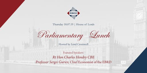 RBCC Parliamentary Lunch 2019