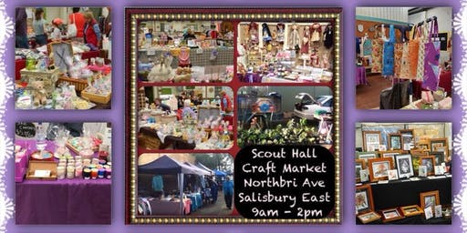 Scout Hall Craft Markets July 27th