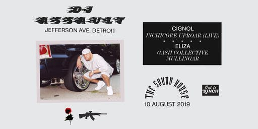 DJ Assault [Jefferson Ave. - Detroit] + Cignol LIVE [Lunar Disko - Inchicore] + Eliza