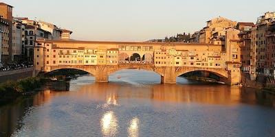 Walking free tour original Florence with small free food tasting (english)