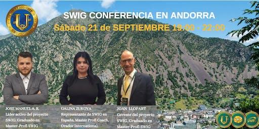 Te invitamos a nuestro evento de SWIG y STO CRYPTOUNIT en ANDORRA