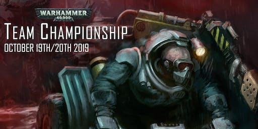 Warhammer 40,000 Team Championship October