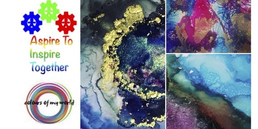 Exploring Alcohol Inks -Colours Of World Workshop