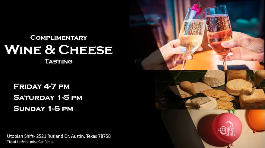 Wine & Cheese Tasting (Complimentary) banner