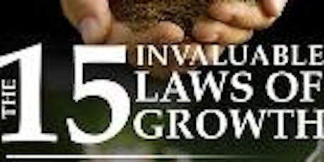 15 Invaluable Laws of Growth Workshop tickets