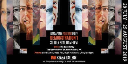 RSASA/SALA 4th Portrait Prize Demonstration 1/5