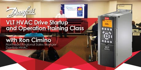 DANFOSS VLT HVAC DRIVE STARTUP & OPERATION TRAINING CLASS tickets