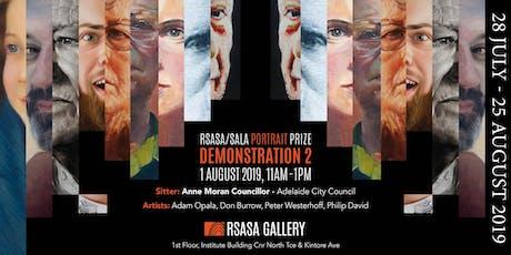 RSASA/SALA 4th Portrait Prize Demonstration 2/5 tickets
