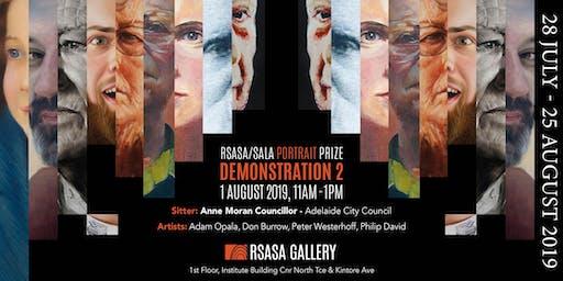 RSASA/SALA 4th Portrait Prize Demonstration 2/5