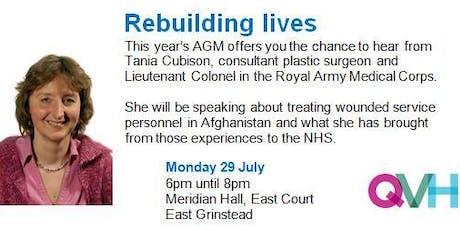 Queen Victoria Hospital AGM 2019 tickets
