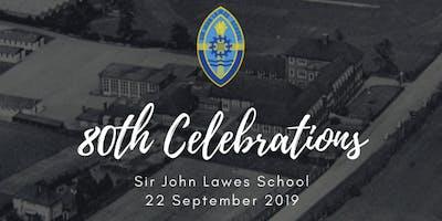 Sir John Lawes School 80th Celebrations