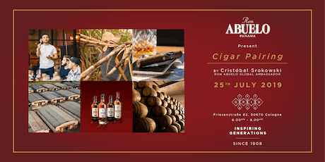 Cigar Pairing w/ Ron Abuelo Tickets