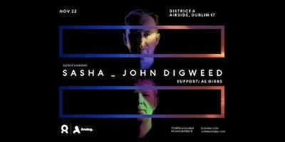 Sasha & John Digweed at District 8
