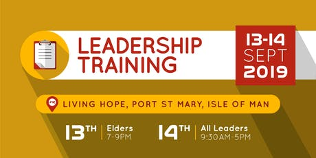 Four 12 Leadership Training tickets