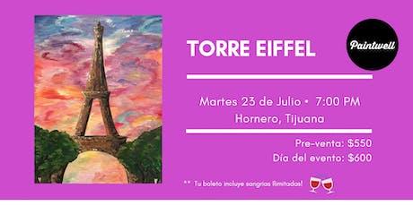 Paintwell en Tijuana (Torre Eiffel) Sangrías Ilimitadas!!  tickets