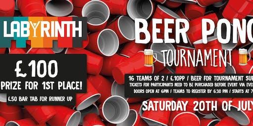 Beer Pong @ Labyrinth