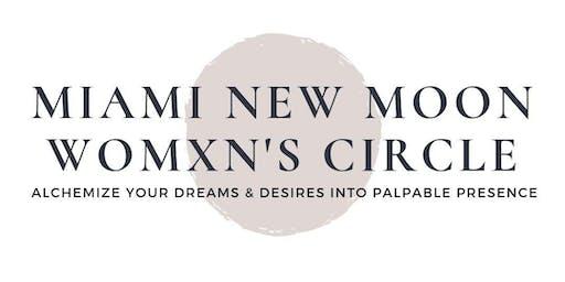 Miami New Moon Womxn's Circle by Shadow & Light Yoga