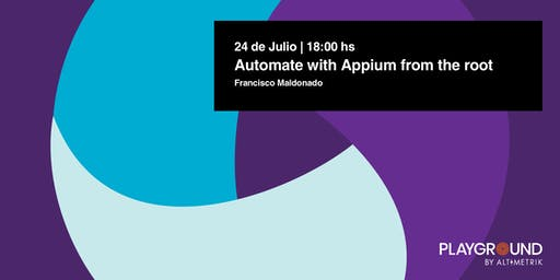 Automate with Appium, from the root