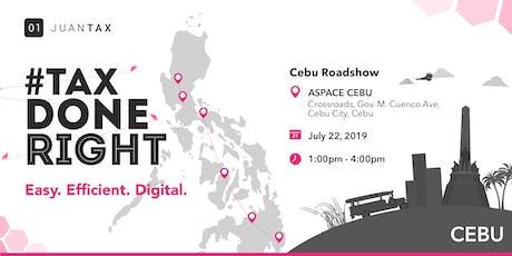 JuanTax Roadshow Cebu tickets