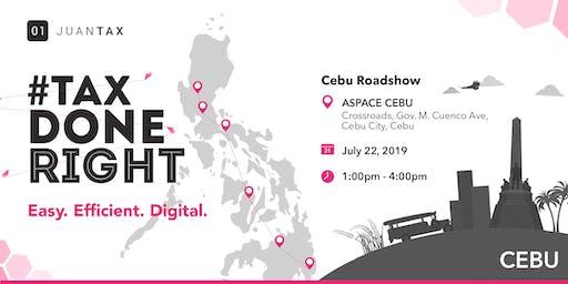 JuanTax Roadshow Cebu