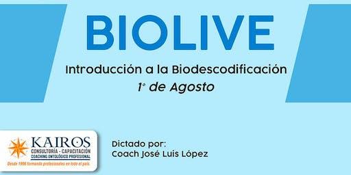 Taller de BIOLIVE -Introducción a la Biodescodificación-