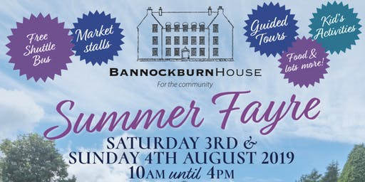 Bannockburn House Summer Fayre