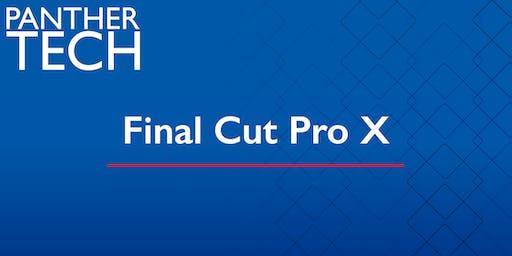 Final Cut Pro X - Dunwoody Campus - NE 0260