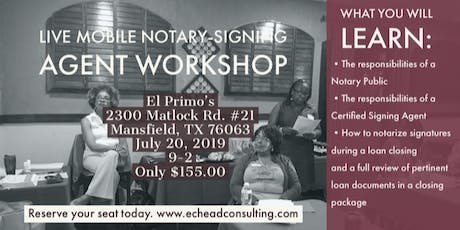 Notary Public Signing Agent Training tickets
