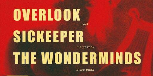 OVERLOOK + SICKEEPER + THE WONDERMINDS en @Transylvania Metal Club (Vigo)
